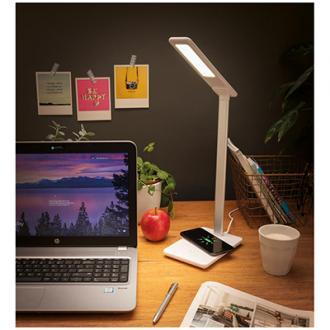 Lampa de birou 5W cu incarcator wireless integrat