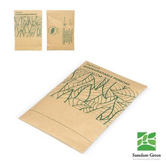 Poncho Biodegradabil