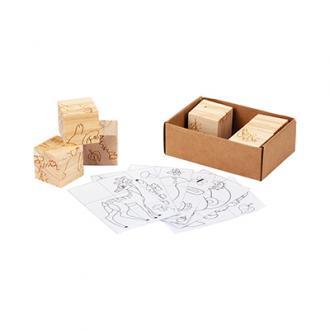 Puzzle din lemn ANIMAL WORLD