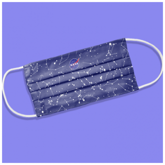 Masti textile reutilizabile 2 straturi micropolyester ADULTI