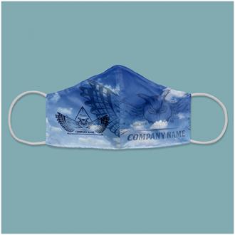 Masti textile reutilizabile 2 straturi micro-polyester + 2 filtre carbon PMS2.5 (incluse) ADULTI