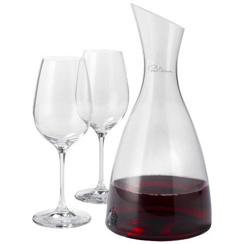 Decantor de vin cu 2 pahare Prestige