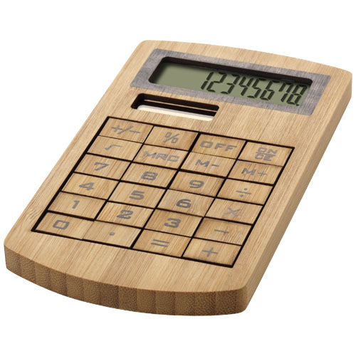 Calculator din bambus Eugene