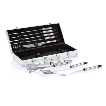 12pcs BBQ set in aluminium box