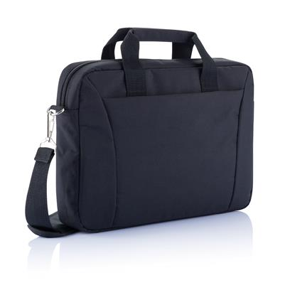 "PVC vrije 15"" exhibition laptop tas"
