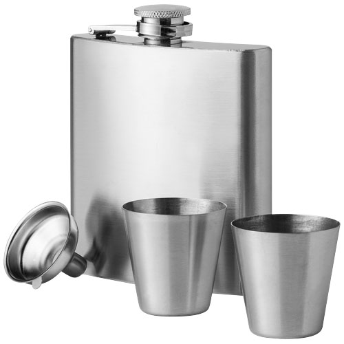 Texas hip flask with cups