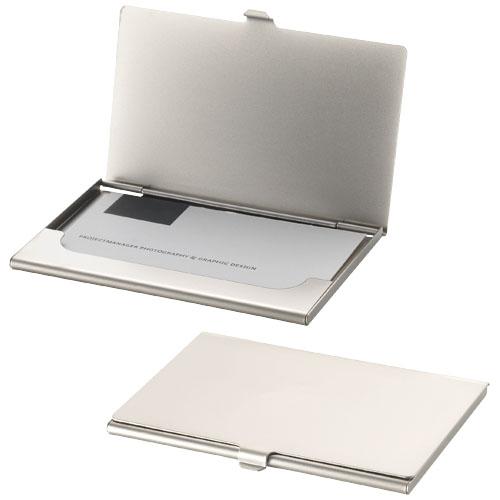 Suport metalic mat pentru carti de vizita