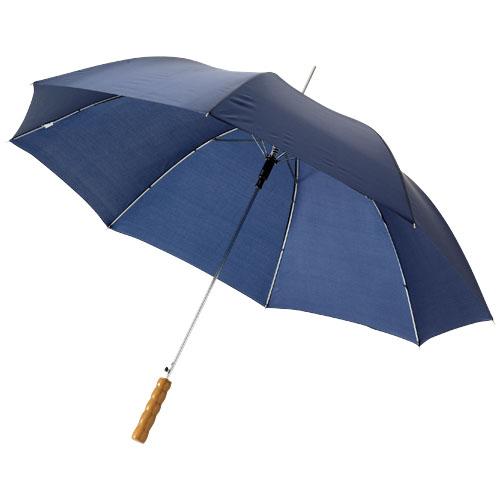 Umbrela de ploaie automata cu maner din lemn