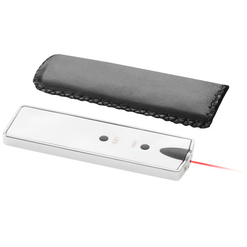 Laser pointer met LED