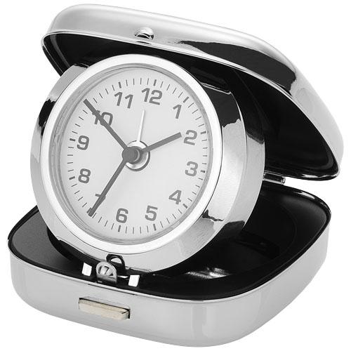 Ceas de masa cu alarma in cutie metalica