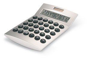 Calculator solar de birou Basics