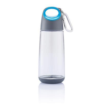 Bopp Mini fles met karabijnhaak transparente