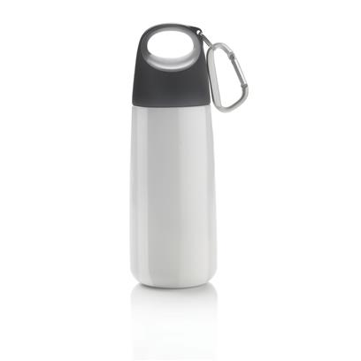 Bopp Mini fles met karabijnhaak en matte finish
