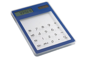 Calculator transparent Clearal
