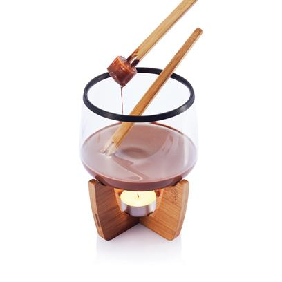 Set fondue pentru ciocolata calda