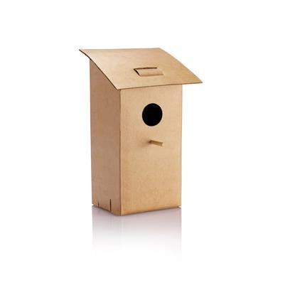 Foldable bird house