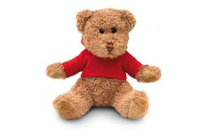 Ursulet din plus cu hanorac