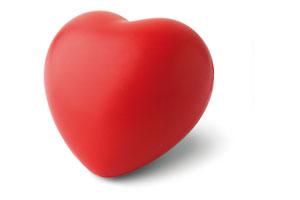 Pernuta antistres sub forma de inima Lovy