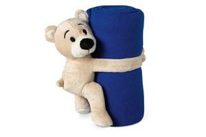 Patura polar cu ursulet de plus