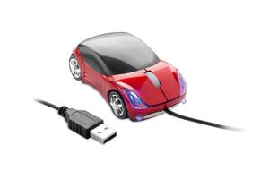 Mouse optic cu forma de masina sport