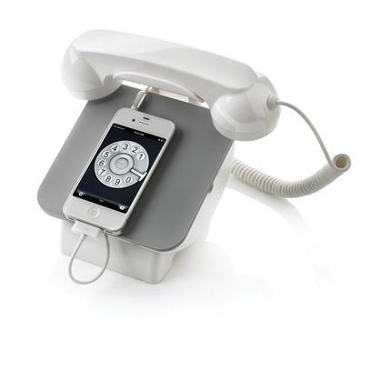 Retro telefoon met oplaadstation