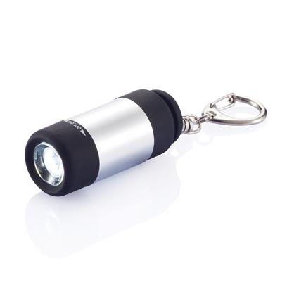 USB rechargable LED torch with keychain